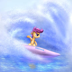 Summer of Scootaloo by Rayhiros
