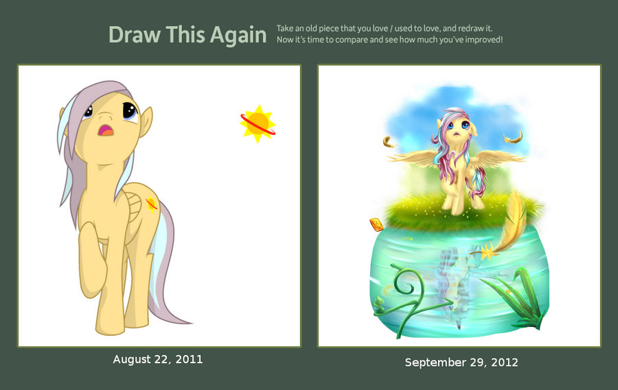 Draw this Again Challenge Nova Cover by Rayhiros