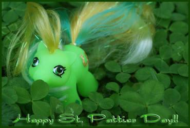 St. Patricks Day Pony- Lucky by wylf