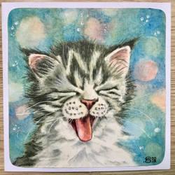 Kitten 11 by marmeline