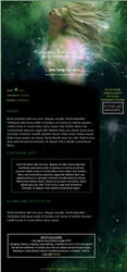 CSS design for AutumnsGoddess by Elandria