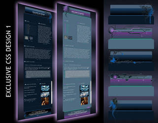 Exclusive CSS Design 1 by Elandria