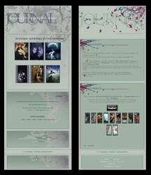 Divas and Flors Journals by Elandria