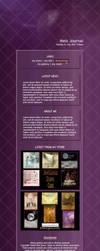 Melgamas CSS Journal Preview by Elandria