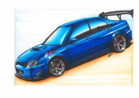 Subaru-Impreza-WRX-2005 by williamzporto
