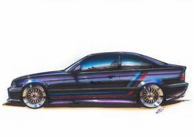 BMW-M3-E36 by williamzporto