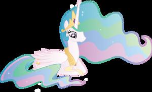 Princess Celestia by WraithX79