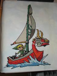 Legend of Zelda Wind Waker by oziphantom