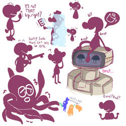 GDUBS doodles 4 by NESSessity