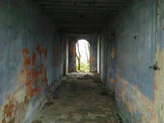A corridor by shadethechangingman