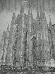 The Duomo of Milano by shadethechangingman
