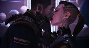 Tribute to Jack and Shepard Citadel DLC by Nightfable