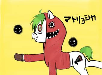 Matryoshka Pony by Yomikomi