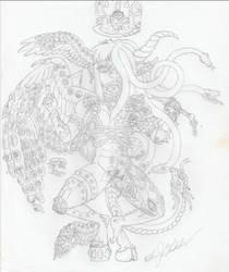 Fallen Seraphim Warrior - by BooRat by BooRat