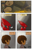 Round I- Red Flash Beatdown (pg 6 END) by Seagullpendragon