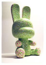 Baby Qee Bunny Custom 3 by Tan-Ki