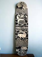 Skate Deck Custom 2 by Tan-Ki