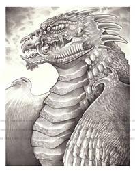 Earthskin Dragon by eychanchan