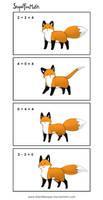StupidFoxMath by eychanchan