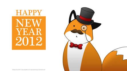 StupidFox - New Year 2012 by eychanchan