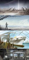 Places SketchDump by eychanchan