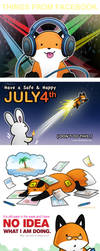StupidFox and Random Things by eychanchan
