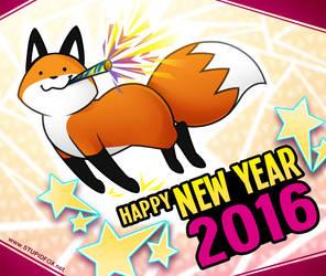 HAPPY 2016 by eychanchan