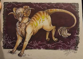 Dark Ram by eychanchan
