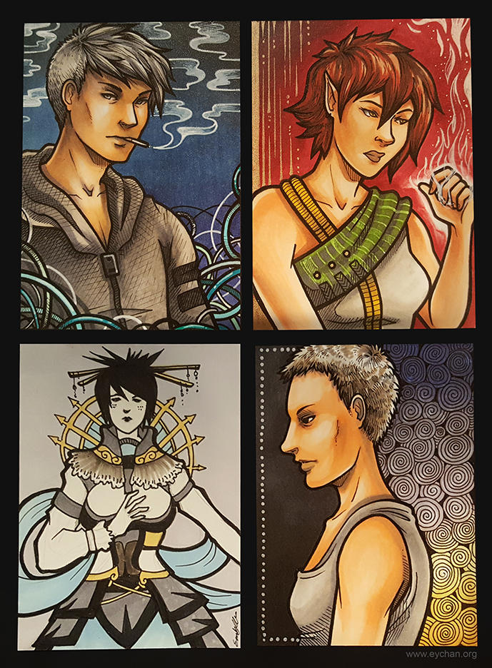 Card Commissions 3 by eychanchan
