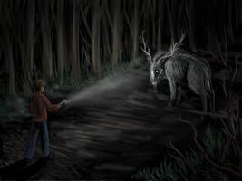 Hello Deer by eychanchan
