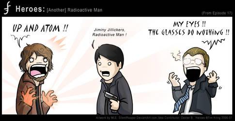 Heroes: Radioactive Man by eychanchan