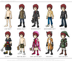 DN: Matt Wardrobe by eychanchan