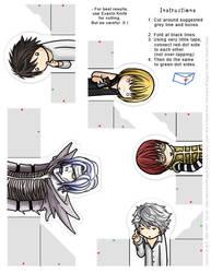 Death Note: FingerPuppet Set 2 by eychanchan