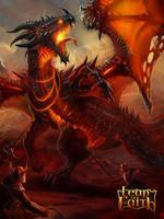 Fire dragon by baklaher