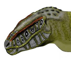 Postosuchus by MrWeaselMan
