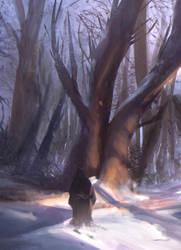 Snow (Process on YouTube, link below) by ZyrSkar