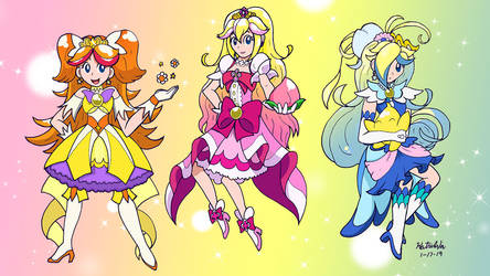 [COMMISSION] Go! Mushroom Princess Precure! by TimerRabbit