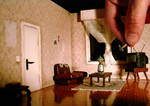 Smashing the TV by JeffStahl