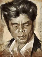 Benicio Del Toro by JeffStahl