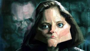 Jodie Foster, by Jeff Stahl by JeffStahl