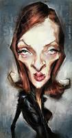 Uma Thurman, by Jeff Stahl by JeffStahl