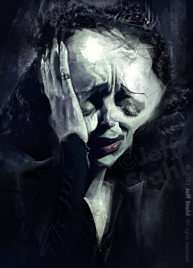 Edith Piaf, by Jeff Stahl by JeffStahl