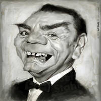 Ernest Borgnine (RIP), by Jeff Stahl by JeffStahl
