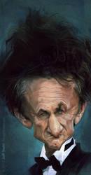 Sean Penn, by Jeff Stahl by JeffStahl