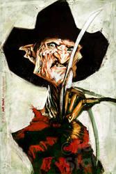 Freddy Krueger, by Jeff Stahl by JeffStahl