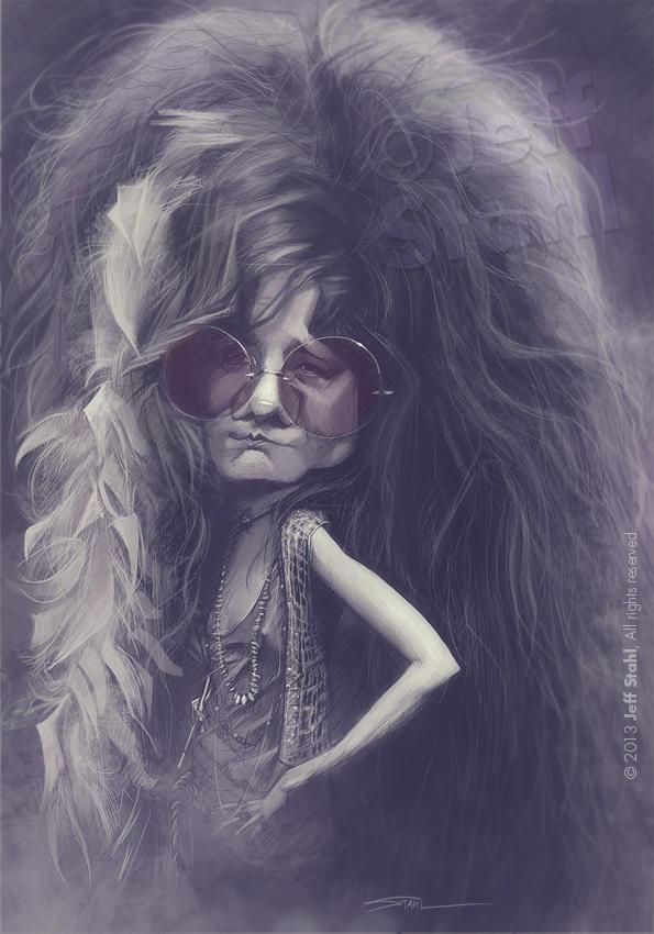 Janis Joplin, by Jeff Stahl by JeffStahl