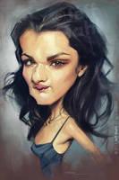 Rachel Weisz, by Jeff Stahl by JeffStahl