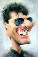 Tom Cruise, by Jeff Stahl by JeffStahl