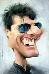 Tom Cruise, by Jeff Stahl by JeffStahl
