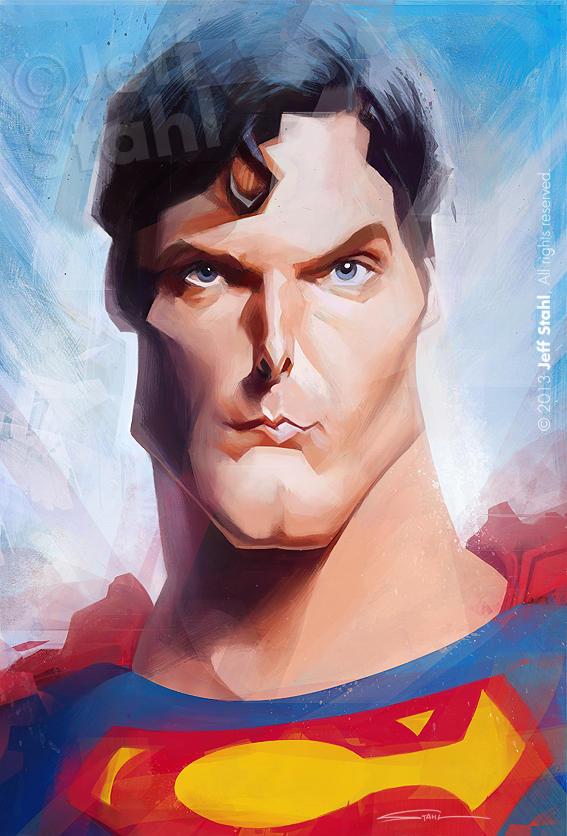 Superman, by Jeff Stahl by JeffStahl